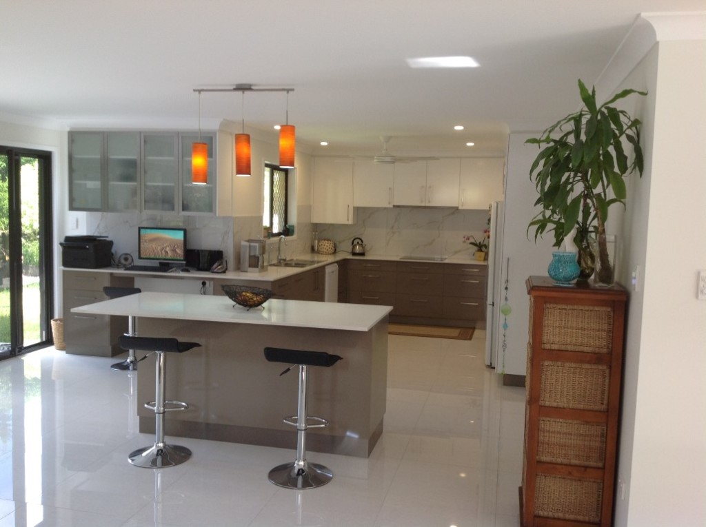Repeat client's kitchen renovation a hit in Redland Bay